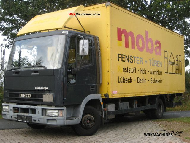 1994 IVECO EuroCargo 75 E 14 Van or truck up to 7.5t Box photo
