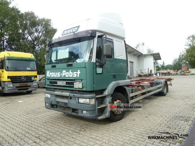 2003 IVECO EuroTrakker 190 Truck over 7.5t Swap chassis photo