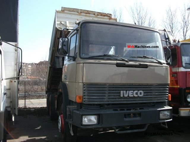 1989 IVECO P/PA 260-30 AH Truck over 7.5t Tipper photo