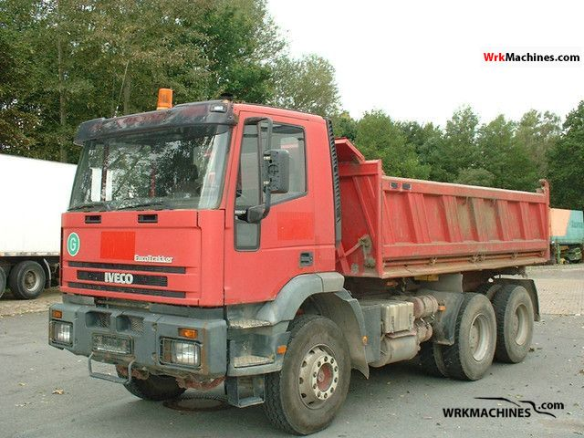 1999 IVECO EuroTrakker 260 E 37 Truck over 7.5t Tipper photo