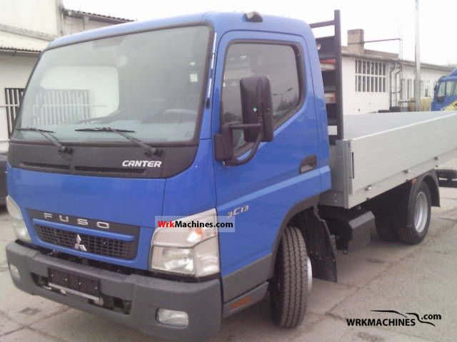 2011 MITSUBISHI Canter Canter 35 Van or truck up to 7.5t Stake body photo