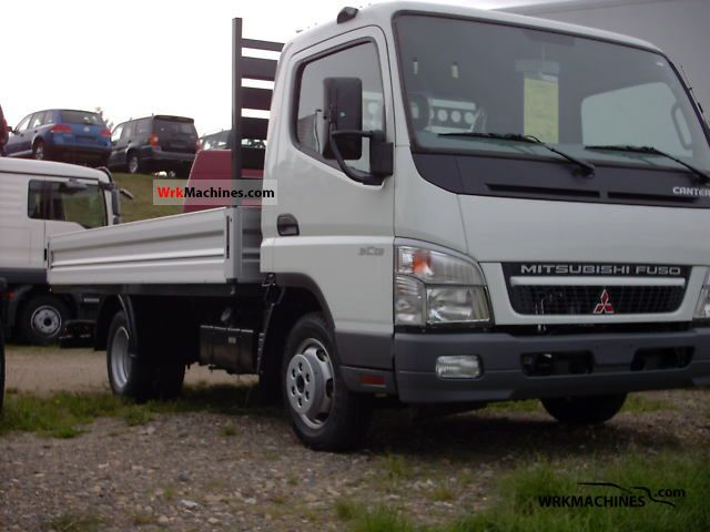 2010 MITSUBISHI Canter Canter 35 Van or truck up to 7.5t Stake body photo