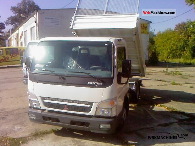 2011 MITSUBISHI Canter Canter 35 Van or truck up to 7.5t Tipper photo