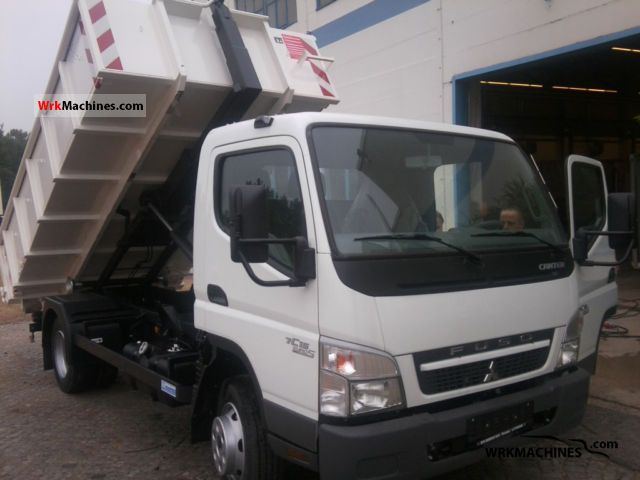 2011 MITSUBISHI Canter Canter 75 Van or truck up to 7.5t Roll-off tipper photo