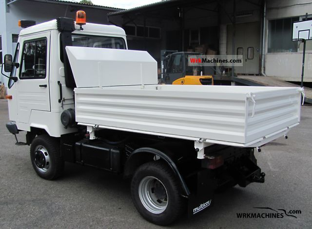 multicar m26 profiline 2005 tipper photos and info. Black Bedroom Furniture Sets. Home Design Ideas