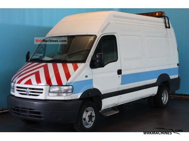 2002 RENAULT Mascott Mascott Van or truck up to 7.5t Box-type delivery van photo