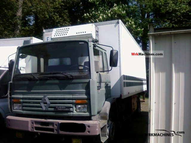 1989 RENAULT Midliner 170 Truck over 7.5t Refrigerator body photo