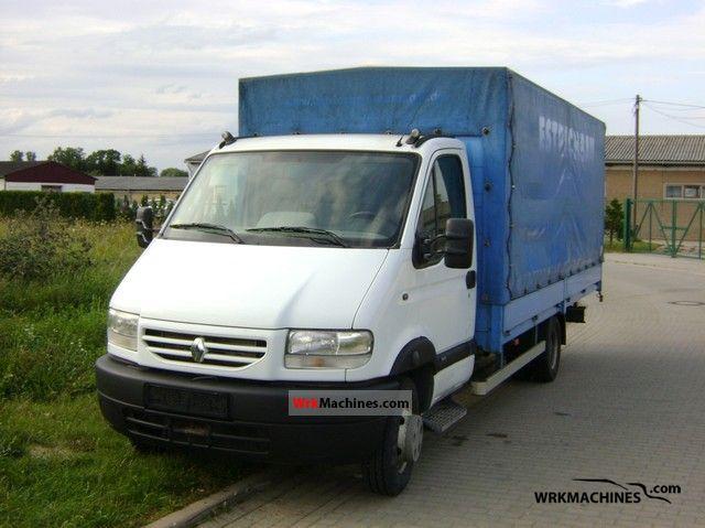 2002 RENAULT Mascott Mascott Van or truck up to 7.5t Stake body and tarpaulin photo
