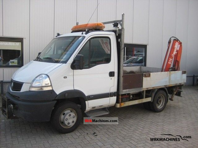 2005 RENAULT Mascott 160.35 Van or truck up to 7.5t Stake body photo