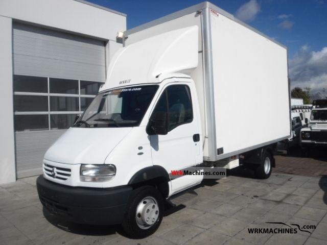 2003 RENAULT Mascott Mascott Van or truck up to 7.5t Box photo