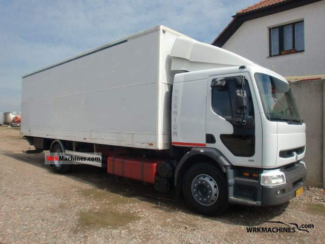 1998 RENAULT Kerax 300.18 Truck over 7.5t Box photo