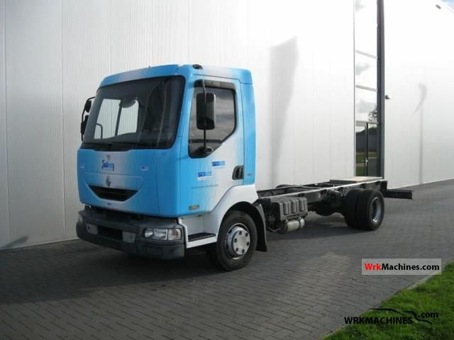 2004 RENAULT Midlum 180 Truck over 7.5t Chassis photo