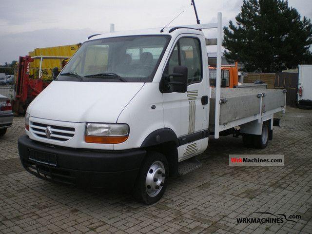 2003 RENAULT Mascott 130 Van or truck up to 7.5t Stake body photo