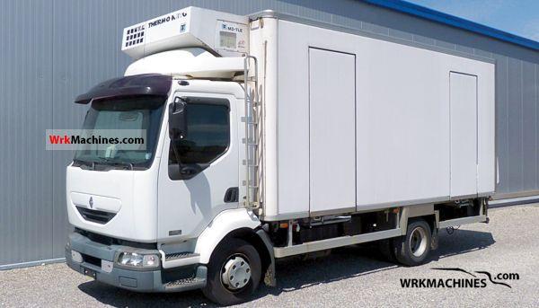 2001 RENAULT Midlum 220.12 Truck over 7.5t Refrigerator body photo
