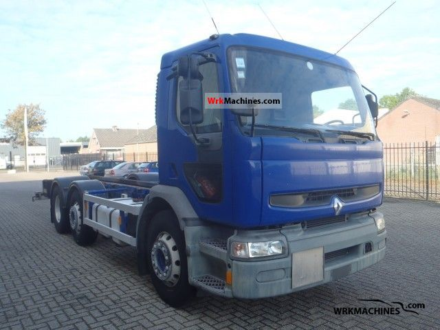 1998 RENAULT C 300.26 Truck over 7.5t Chassis photo