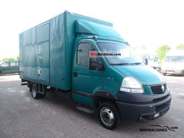 2006 RENAULT Mascott 160.35 Van or truck up to 7.5t Box photo