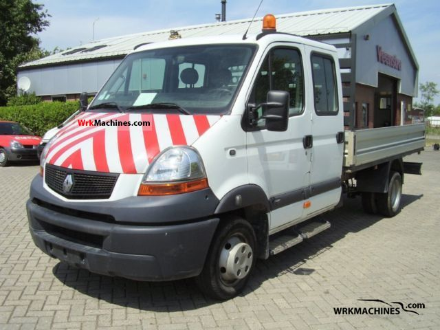 2006 RENAULT Mascott 120.35 Van or truck up to 7.5t Stake body photo