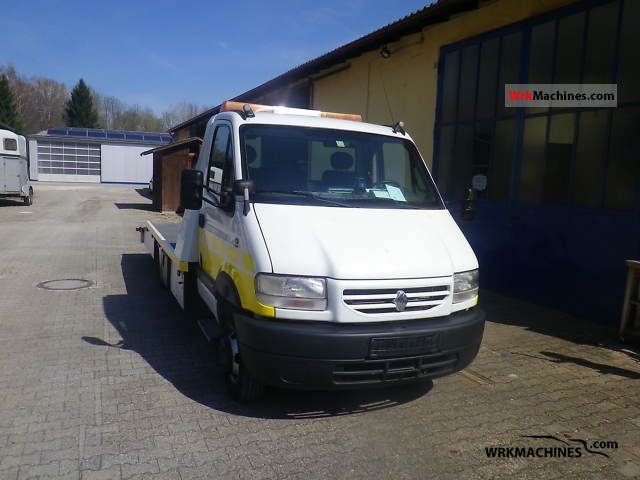 2000 RENAULT Mascott Mascott 110 Van or truck up to 7.5t Breakdown truck photo