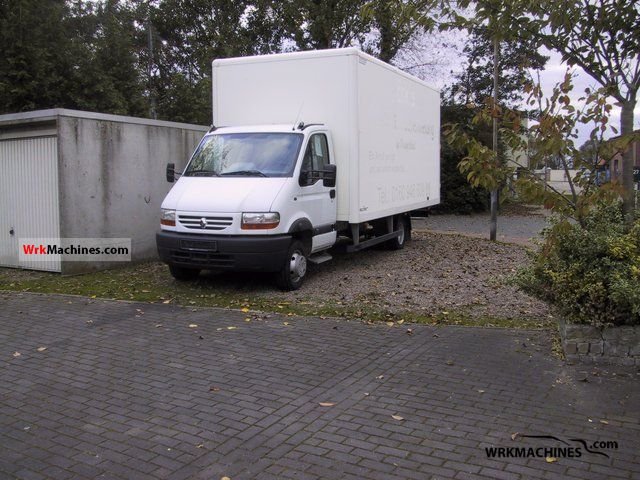 2004 RENAULT Mascott 130 Van or truck up to 7.5t Box photo