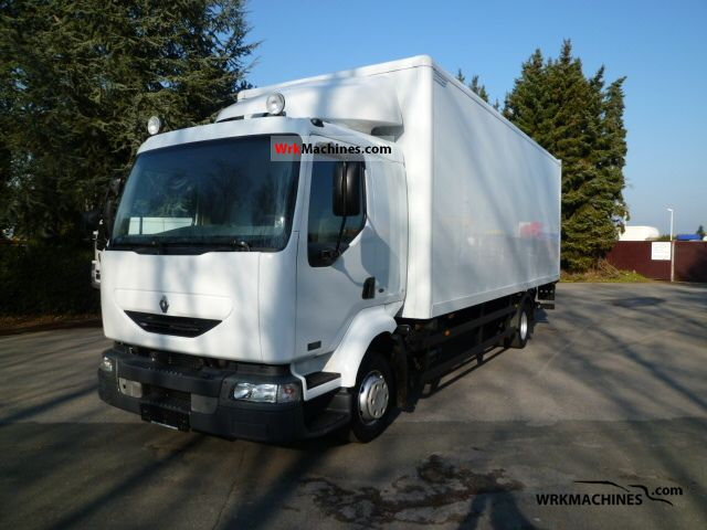 2004 RENAULT Midlum 180.12/B Truck over 7.5t Box photo