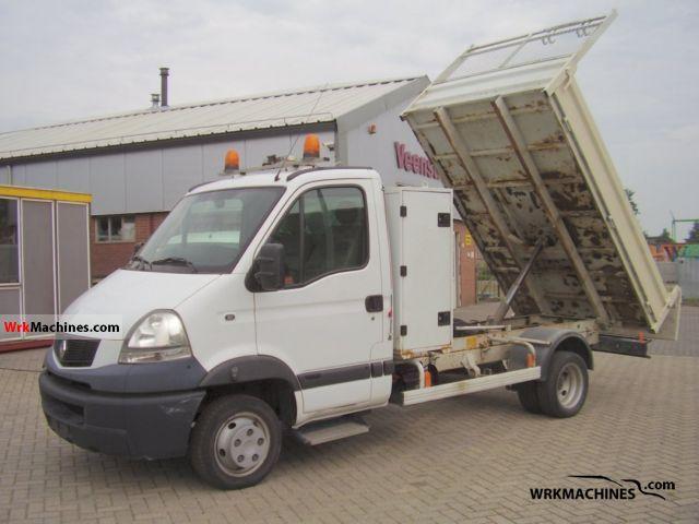 2007 RENAULT Mascott 120.35 Van or truck up to 7.5t Tipper photo