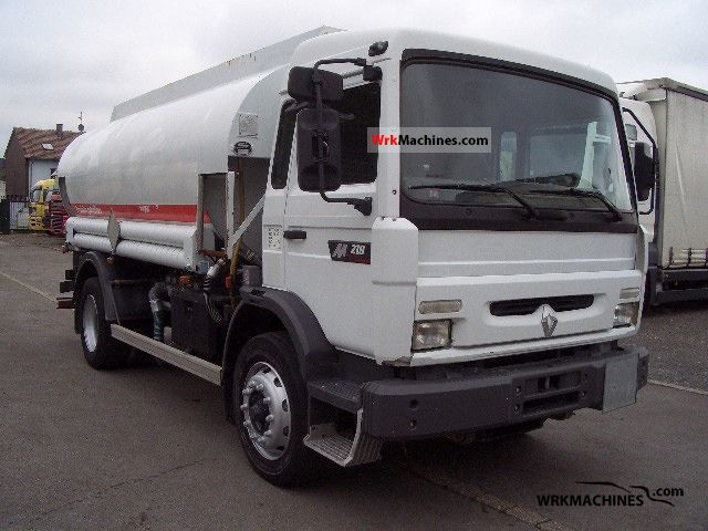 1997 RENAULT Midliner 210.16 Truck over 7.5t Tank truck photo