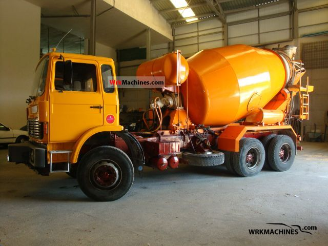 1988 RENAULT G G 290.26 Truck over 7.5t Cement mixer photo