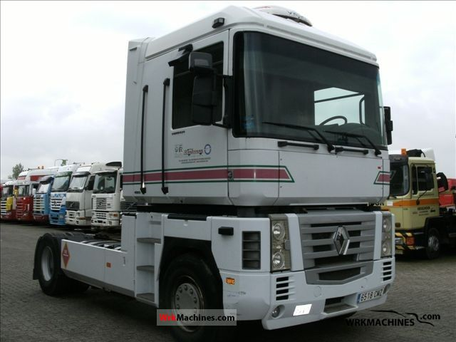 2003 RENAULT Magnum 480.18 Semi-trailer truck Standard tractor/trailer unit photo