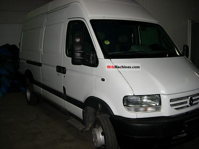 2003 RENAULT Mascott Mascott Van or truck up to 7.5t Box-type delivery van - high and long photo