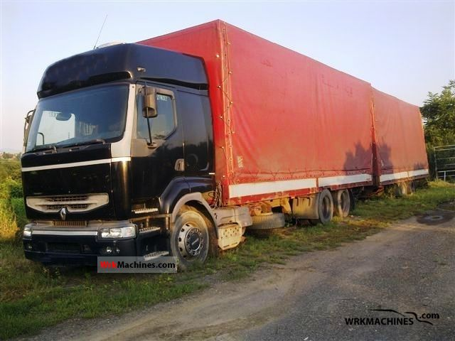 1999 RENAULT Kerax 340.26 Truck over 7.5t Stake body and tarpaulin photo