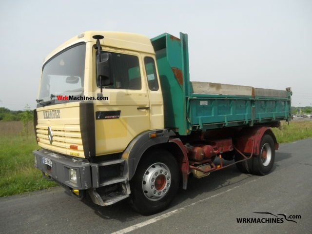 1992 RENAULT Manager G 330.17/T Truck over 7.5t Tipper photo