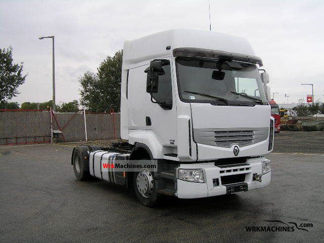 2007 RENAULT Kerax 450.18 Semi-trailer truck Standard tractor/trailer unit photo
