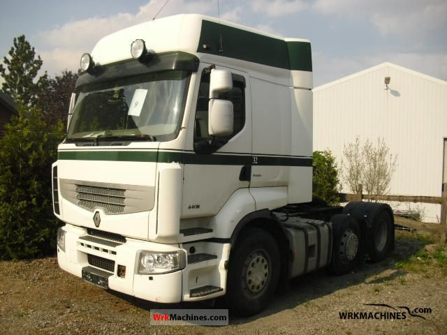2006 RENAULT Magnum 440.26 Semi-trailer truck Heavy load photo