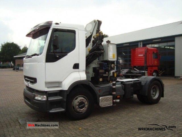 2001 RENAULT Kerax 420.18 Semi-trailer truck Standard tractor/trailer unit photo
