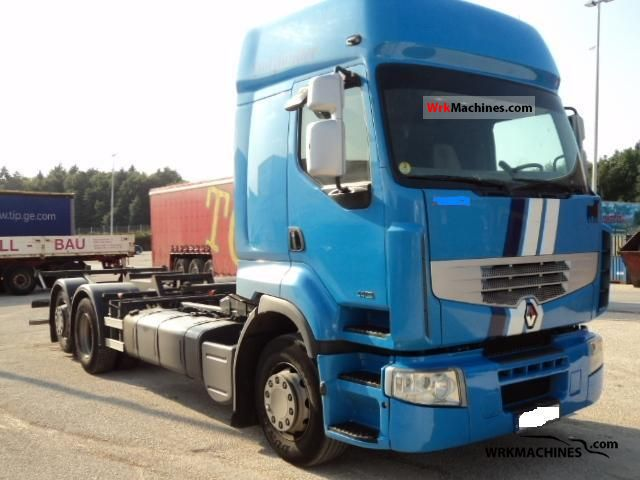 2006 RENAULT Magnum 440.26 Truck over 7.5t Swap chassis photo