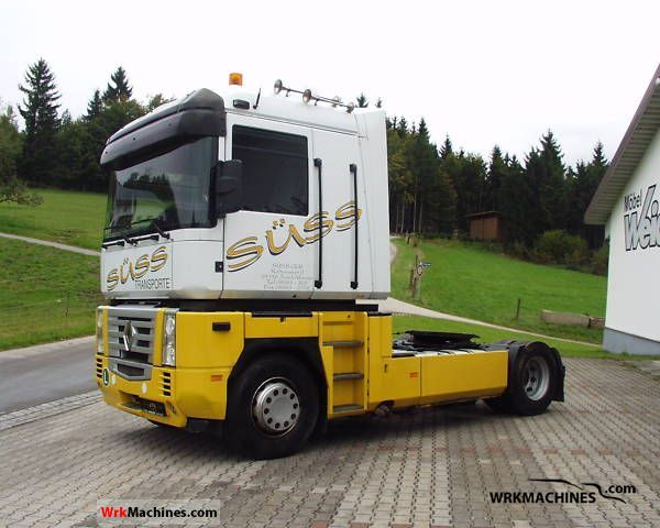 2005 RENAULT Magnum E.TECH 440.18T Semi-trailer truck Standard tractor/trailer unit photo