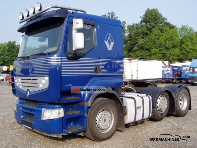 2006 RENAULT Magnum 440.26 Semi-trailer truck Standard tractor/trailer unit photo