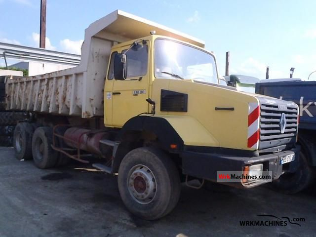 1990 RENAULT G 320 Truck over 7.5t Tipper photo