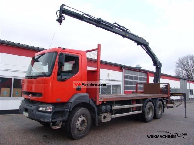 2002 RENAULT Kerax 370.26 Truck over 7.5t Truck-mounted crane photo