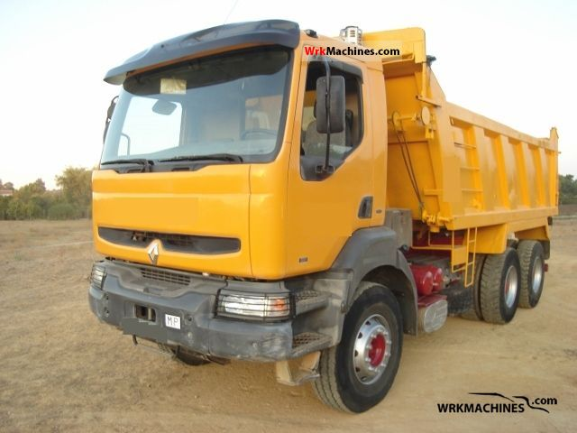 1998 RENAULT C 385.34 Truck over 7.5t Tipper photo