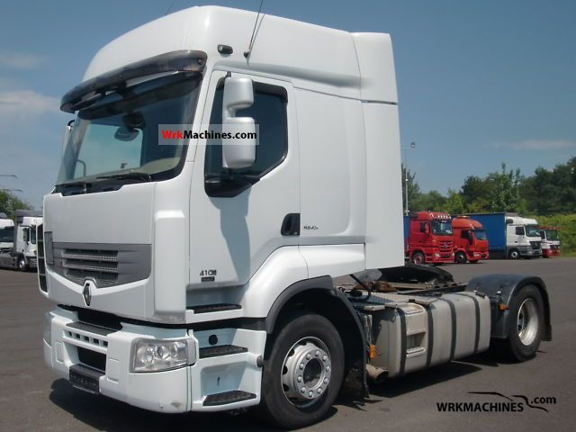 2007 RENAULT Kerax 410.18 Semi-trailer truck Standard tractor/trailer unit photo