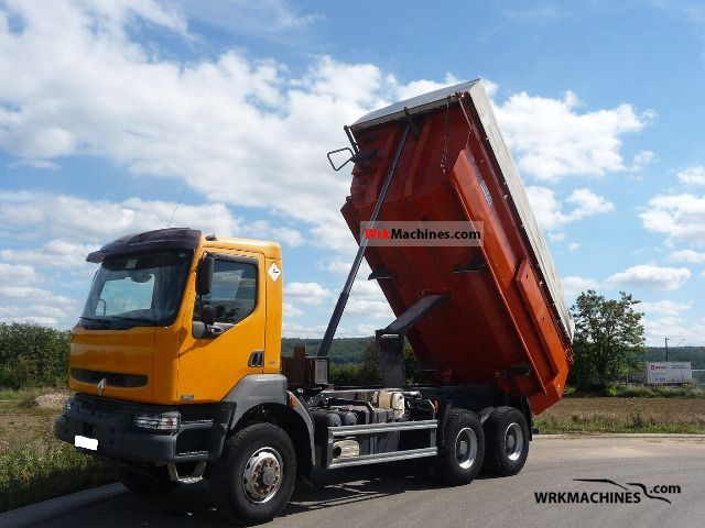 2005 RENAULT Kerax 420.34 Truck over 7.5t Tipper photo