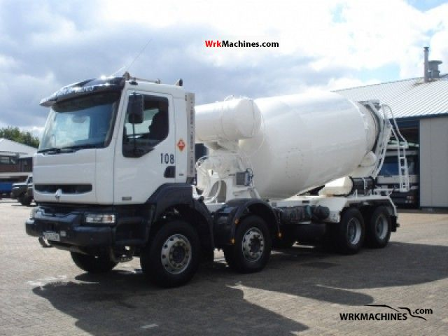 2005 RENAULT Kerax 370.32 Truck over 7.5t Cement mixer photo