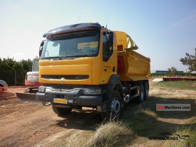 2006 RENAULT Kerax 420.34 Truck over 7.5t Tipper photo