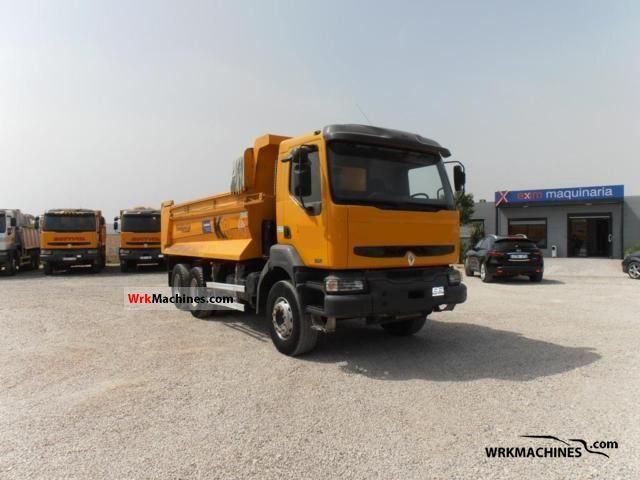 2006 RENAULT Kerax 370.26 Truck over 7.5t Dumper truck photo