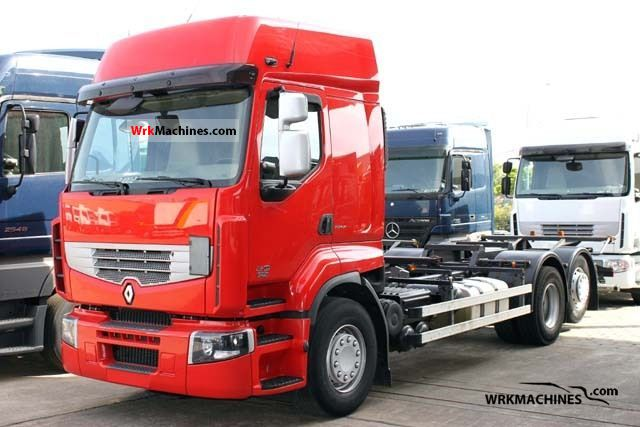 2008 RENAULT Kerax 450.26 Truck over 7.5t Chassis photo
