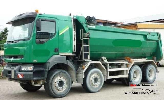 2006 RENAULT Kerax 420.32 Truck over 7.5t Tipper photo