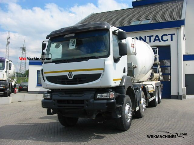 2007 RENAULT Kerax 370.32 Truck over 7.5t Cement mixer photo