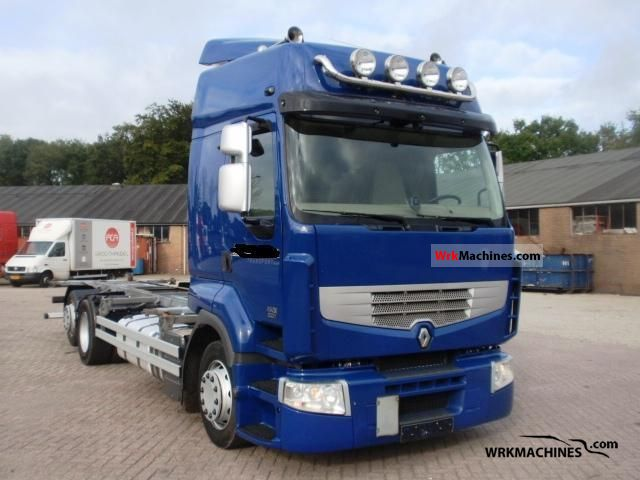 2009 RENAULT Kerax 450.26 Truck over 7.5t Swap chassis photo