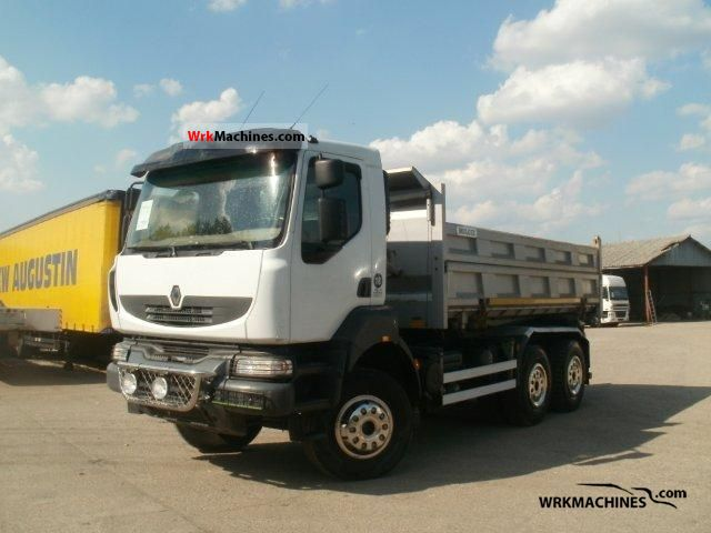 2007 RENAULT Kerax 450.26 Truck over 7.5t Three-sided Tipper photo